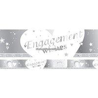 Banderoll - Hjärtan förlovning 2,7 m