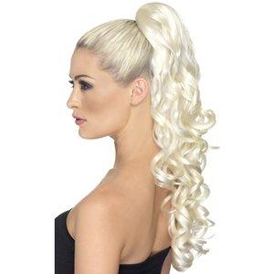 Gudinna hårförlängning blond