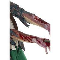 Latex-ärm med skador