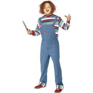 Chucky maskeraddräkt man
