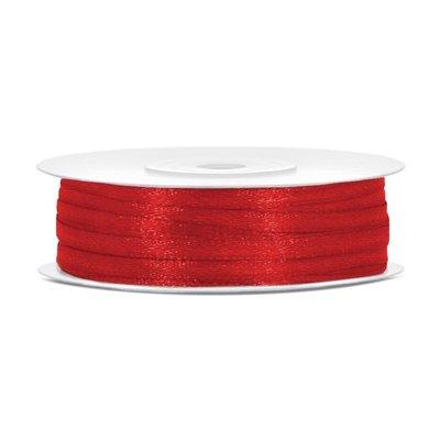 Satinband - Flera olika färger 3 mm x 50 m