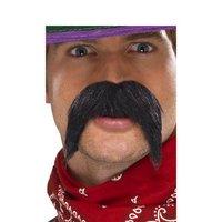 Stor och buskig gringo mustasch