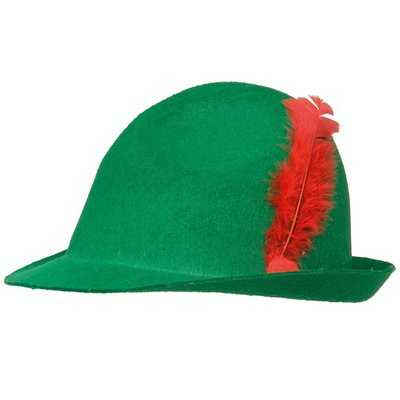 Tyrolerhatt grön