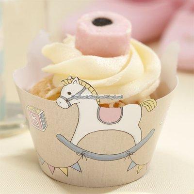 Rock A Bye baby muffins/cupcakeformar - 10 st