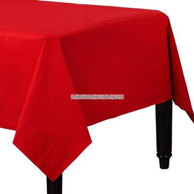 Röd Pappersduk - 2 st