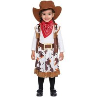 Cowboyflicka maskeraddräkt