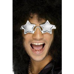 Stjärna glasögon silver