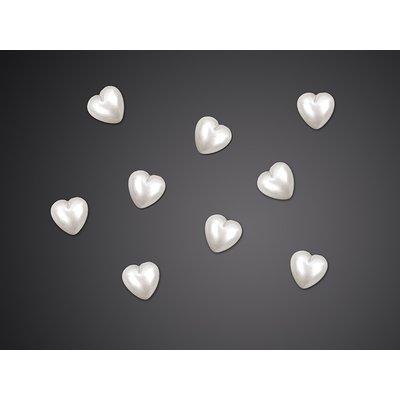 Hjärtanutsmyckningar - 8 mm 50 st