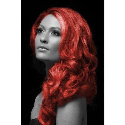 röd hårfärg spray