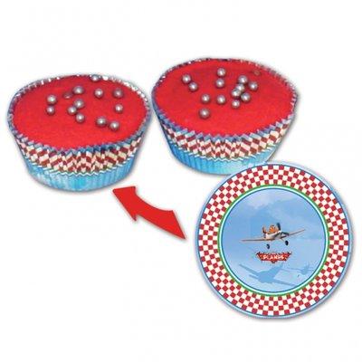 Disney planes cupcake/muffinsformar - 24 st