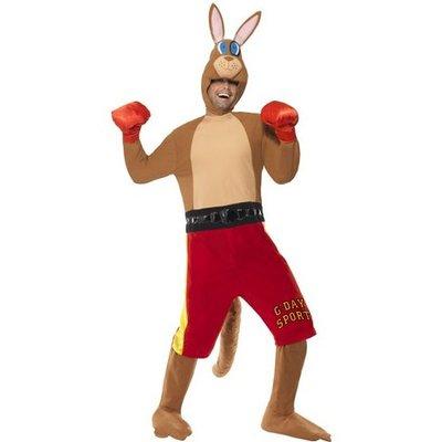 Boxande känguru maskeraddräkt - Medium