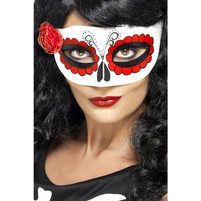 Mexicansk Day of the dead ögonmask