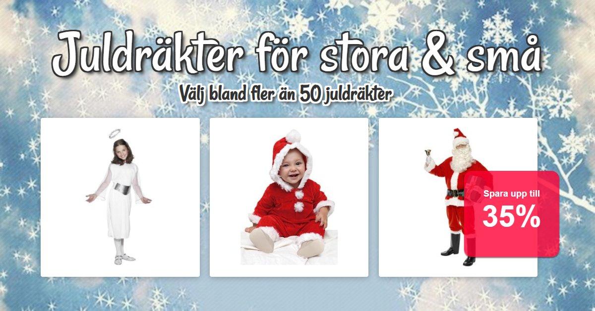 Juldräkter för stora & små