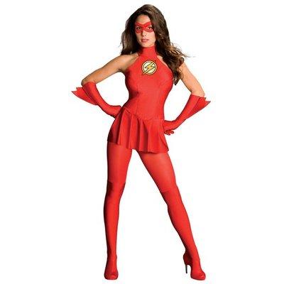 Flash maskeraddräkt kvinna