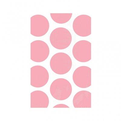 Godispåse med rosa prickar - 10 st