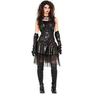 Gothkvinna maskeraddräkt - Onesize
