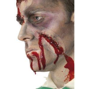Skada - självsytt sår