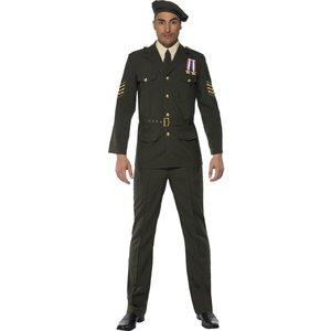 Krigsofficerare, grön