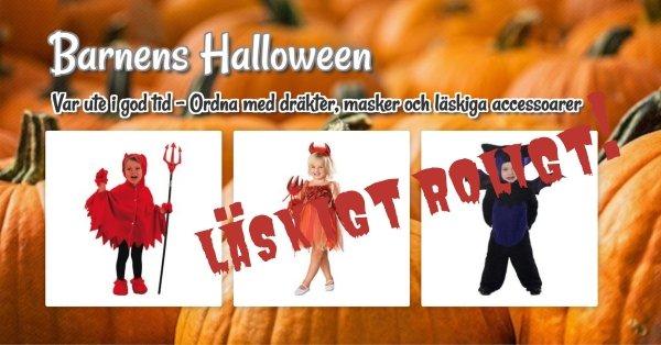 Barnens Halloween - Upp till 11% rabatt