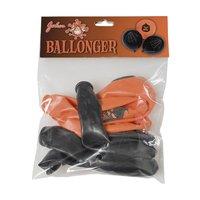 Halloweenballonger med tryck8-pack