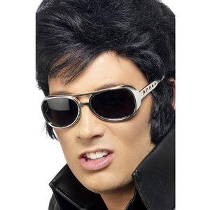 Glasögon Elvis silver