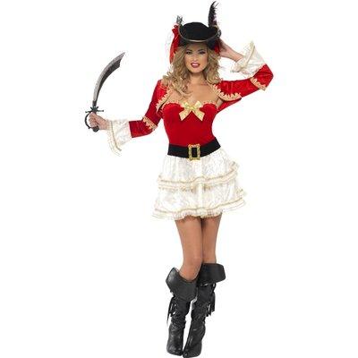 Pirat - maskeraddräkt Ladys revenge
