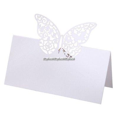 Fjärils- placeringskort - Something in the air - 10 st
