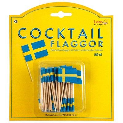 Cocktailflaggor - 50 st