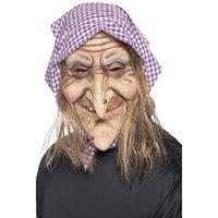 Gammal häxa mask