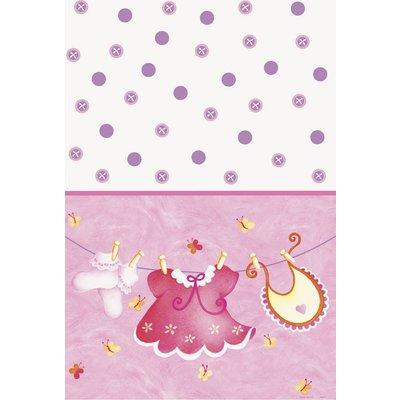 Bordsduk - Klädlina rosa