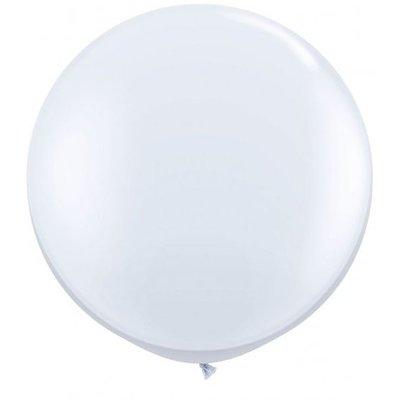 Jätteballong - Vit 80 cm