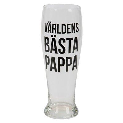 Ölglas - Världens bästa pappa