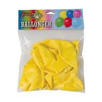 Gula ballonger 10-pack