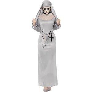 Gotissk nunna maskeraddräkt