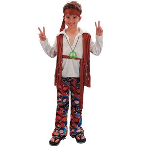 Hippie - maskeraddräkt barn pojke
