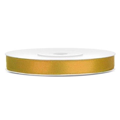 Satinband - Flera olika färger 6 mm x 25 m