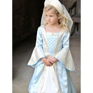 Tudorflicka barn maskeraddräkt