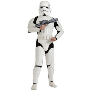 Deluxe Stormtrooper maskeraddräkt vuxen