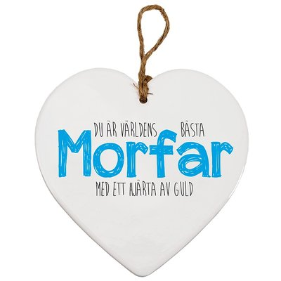 Hjärttavla- Morfar