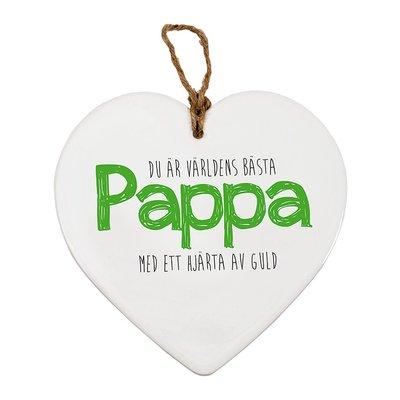 Hjärttavla- Pappa
