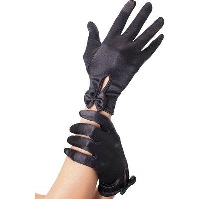 Korta handskar - svarta