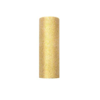 Glittrigt tylltyg på rulle - Flera olika färger 0,15 x 9 m