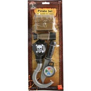 Pirat set med skattkista