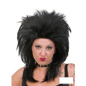 Punkperuk svart