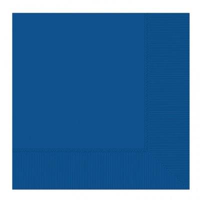 Mörkblå pappersservetter