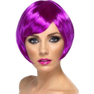 Kort page lila peruk
