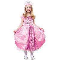 Prinsessa maskeraddräkt barn - Rosa