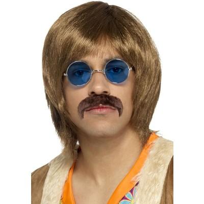 60-talet Hippie kit - Brun