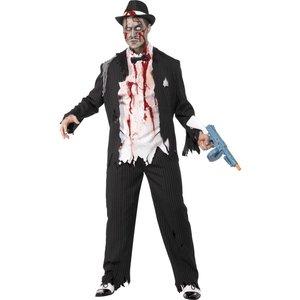 Zombiegangster maskeraddräkt