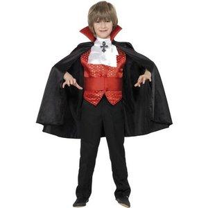 Dracula maskeraddräkt för barn